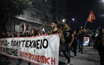 Πολυτεχνείο: Πορεία και στη Θεσσαλονίκη για την επέτειο