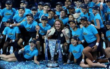 Ελληνική Ομοσπονδία Πετοσφαίρισης για Στέφανο Τσιτσιπά: Γίναμε μάρτυρες της γέννησης ενός παγκόσμιου σταρ