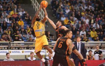 Basketball Champions League: ΑΕΚ-Ράστα Βέχτα 75-79