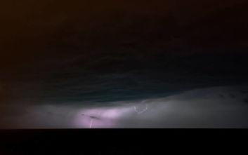 Βροχές και καταιγίδες φέρνει ο «Γηρυόνης»