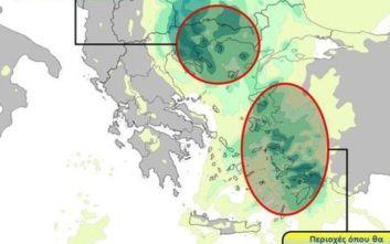 Κακοκαιρία: Ποιες περιοχές πλήττουν τα έντονα φαινόμενα την Παρασκευή