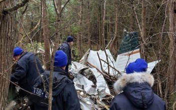 Καναδάς: Επτά νεκροί στη συντριβή μικρού αεροσκάφους