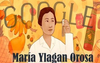 Αφιερωμένο στη Maria Ylagan Orosa το σημερινό doodle της Google