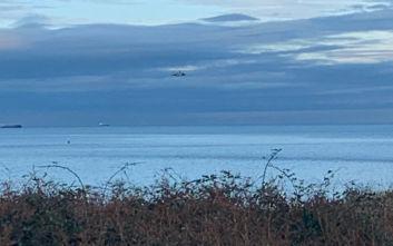 Αναφορές για συντριβή μικρού αεροσκάφους ανοιχτά της Ουαλίας
