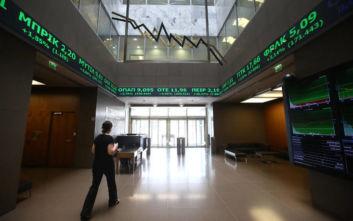 Χρηματιστήριο: Κλείσιμο με πτώση 0,34%