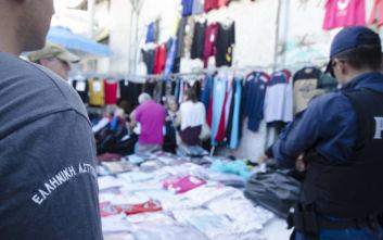 Πρόστιμα και κατασχέσεις σε προϊόντα παρεμπορίου σε Θεσαλλονίκη, Κρήτη και Αγίους Αναργύρους