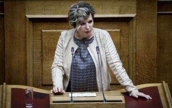 Διαμαρτυρία Γεροβασίλη για τη διακοπή μετάδοσης των εργασιών της Ολομέλειας της Βουλής