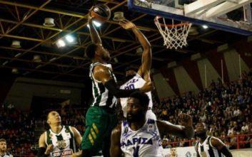 Basket League: Λάρισα – Παναθηναϊκός 68-110: «Πράσινο» showtime στον κάμπο!
