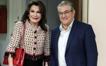 Ελλάδα 2021: Ο Δημήτρης Κουτσούμπας συνάντησε την Γιάννα Αγγελοπούλου
