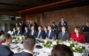 Η πρόποση του Κυριάκου Μητσοτάκη στο γεύμα προς τιμήν του προέδρου της Κίνας