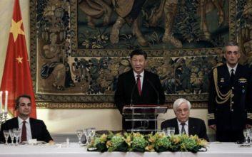 Σι Τζινπίνγκ: Νέα σελίδα συνεργασίας μεταξύ Ελλάδας και Κίνας, με αμοιβαίο σεβασμό