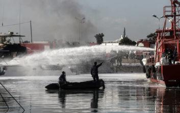 Έκρηξη σε σκάφος στον Άλιμο με έναν 31χρονο τραυματία