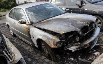 Σέρρες: Στις φλόγες όχημα τα ξημερώματα στο Σιδηρόκαστρο