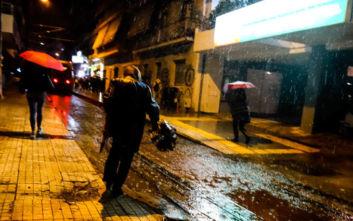 Κακοκαιρία: «Βούλιαξαν» Θάσος και Χαλκιδική