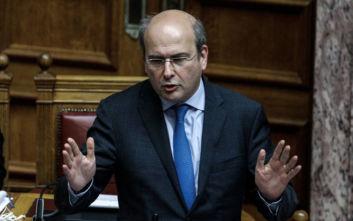Κωστής Χατζηδάκης σε ΣΥΡΙΖΑ για τη ΔΕΗ: Ντροπή! Ντροπή! Ντροπή!