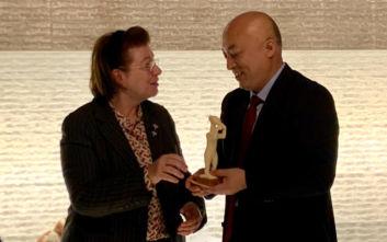 Συνεργασίες της Λίνας Μενδώνη στο Πεκίνο, για την προβολή του ελληνικού πολιτισμού