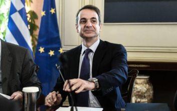 Μητσοτάκης στο υπουργικό συμβούλιο: Οι 6 άξονες και τα 30 νομοσχέδια