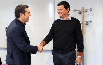Η συνάντηση του Αλέξη Τσίπρα με τον Τομά Πικετί, τι συζήτησαν