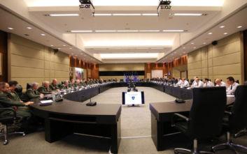 Σύσκεψη των διοικητών των στρατιωτικών εργοστασίων υπό τον Αλκιβιάδη Στεφανή