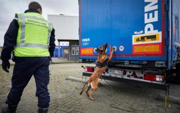 Ολλανδία: 16 μετανάστες βρέθηκαν ζωντανοί μέσα σε ένα φορτηγό