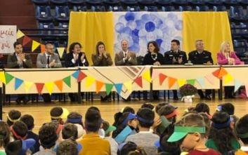 Ρεκόρ Γκίνες στον «Γκρινιάρη» από μαθητές δημοτικών σχολείων της Δράμας