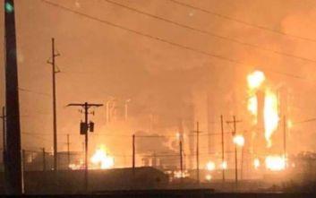 Έκρηξη σε εργοστάσιο χημικών: Τρεις άνθρωποι τραυματίστηκαν
