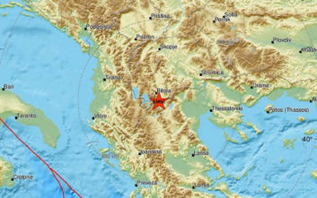 Σεισμός τώρα στη Φλώρινα