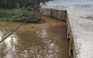 Λέσβος: Υγειονομική «βόμβα» από τα λύματα στη Μόρια καταγγέλλουν οι κάτοικοι