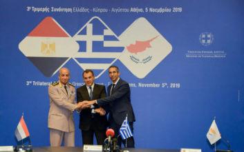 Καταδίκη της Τουρκίας από Ελλάδα, Αίγυπτο και Κύπρο για τις προκλητικές ενέργειές της