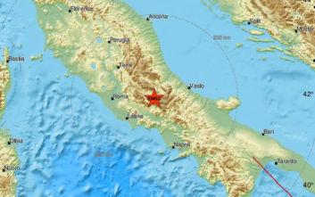 Σεισμική δόνηση στην Ιταλία