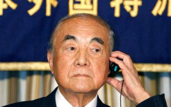 Ιαπωνία: Σε ηλικία 101 ετών πέθανε ο πρώην πρωθυπουργός Γιασουχίρο Νακασόνε