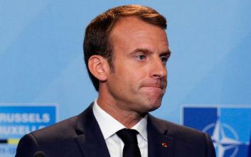 Ο Μακρόν αποκάλεσε το ΝΑΤΟ «εγκεφαλικά νεκρό» και προκάλεσε οργή στη Συμμαχία