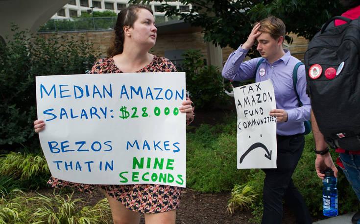 Αποκαλυπτική έρευνα για το εργασιακό περιβάλλον της Amazon – Newsbeast