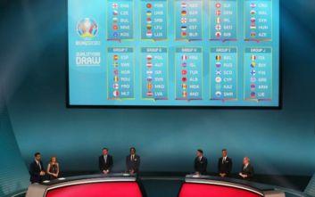 Κλήρωση Euro 2020: Θα μεταδοθεί ζωντανά από τον ΑΝΤ1