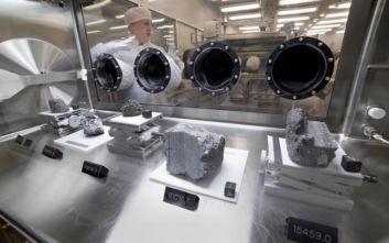 Να γιατί ανοίγει η NASA τα σφραγισμένα σεληνιακά δείγματα