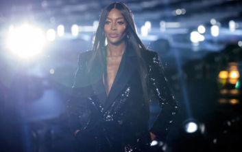 Η Ναόμι Κάμπελ είπε «όχι» σε επίδειξη μόδας μόνο με μαύρα μοντέλα