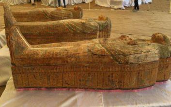 Αίγυπτος: Σπουδαία αρχαιολογική ανακάλυψη στη νεκρόπολη Ελ Ασασίφ