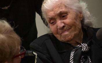 Η 92χρονη Ελληνίδα που έσωσε μια οικογένεια Εβραίων από τους Ναζί