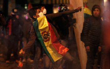 Βολιβία: Από συγκρούσεις σημαδεύτηκε η πρώτη ημέρα της μεταβατικής προέδρου