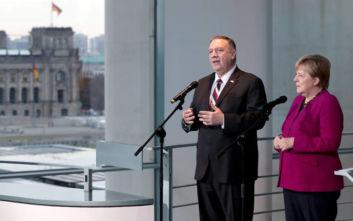 Μέρκελ: Δεν θα ξεχάσουμε τη συμβολή των ΗΠΑ στη γερμανική ενότητα