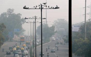 Ινδία: Χίλια παιδιά έτρεξαν σε αγώνα δρόμου παρά την ατμοσφαιρική ρύπανση