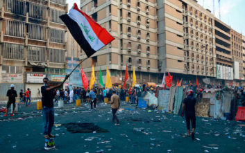 Ο πρόεδρος του Ιρακινού Κουρδιστάν στη Βαγδάτη εν μέσω διαδηλώσεων