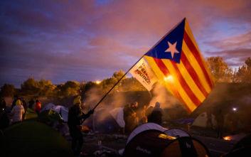 Διαδηλωτές για την Καταλονία απέκλεισαν εκ νέου δρόμο στα γαλλο-ισπανικά σύνορα