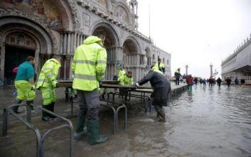 Ζημιές στη βιβλιοθήκη του Ελληνικού Ινστιτούτου Βυζαντινών Σπουδών από τις πλημμύρες στη Βενετία
