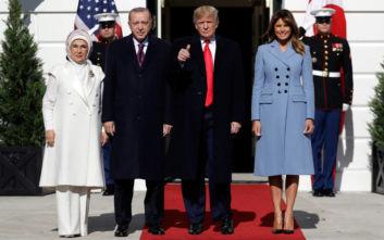 Συνάντηση Τραμπ-Ερντογάν: «Είμαστε φίλοι εδώ και πολύ καιρό, κατανοούμε ο ένας τη χώρα του άλλου»