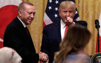 Ο Τραμπ στηρίζει Ερντογάν: Μου αρέσει η Τουρκία και τα πάω πολύ καλά με τον πρόεδρο