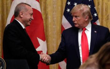 Ερντογάν και Τραμπ συζήτησαν για Λιβύη και εμπόριο 100 δισ. δολαρίων