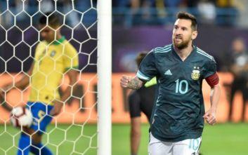 Βραζιλία-Αργεντινή: Φιλική νίκη με γκολ Μέσι η Αλμπισελέστε