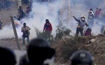 Βυθίζεται στο χάος η Βολιβία