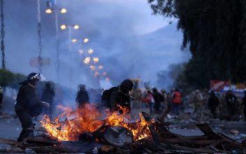 Βολιβία: Στους δρόμους και χιλιάδες καλλιεργητές κόκας